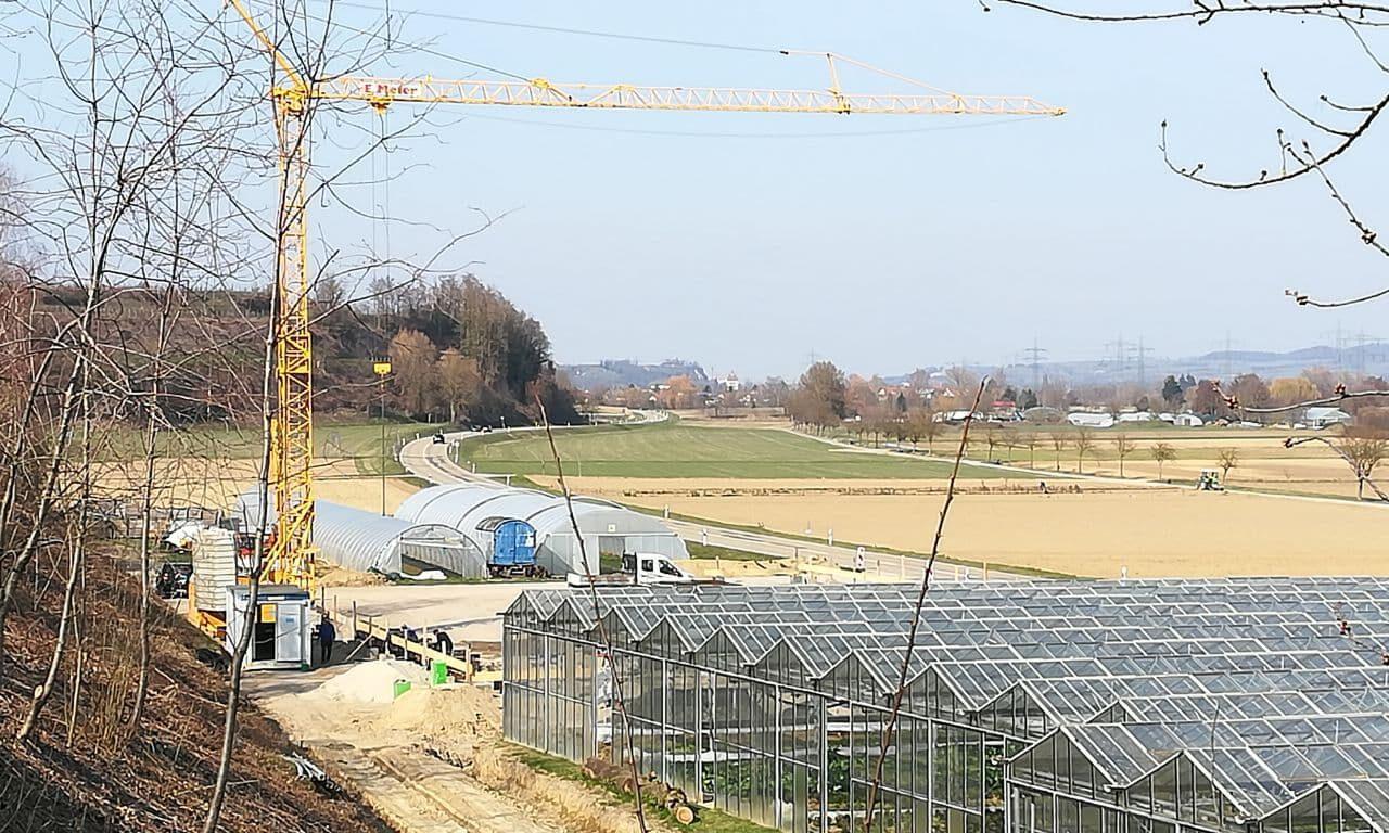 Bauarbeiten März 2021